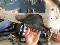 rear bumper mount repair