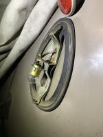 Split taillight details