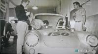 "VW ""heritage"" in Porsche Spyder, ""Autopsy: The last hours of James Dean"""