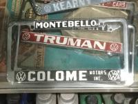 Colome plate frame