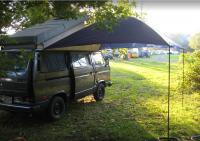awning at Trax