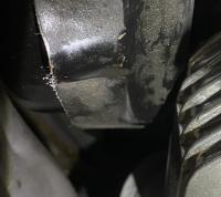Maxi 2 oil pump cover rubbing