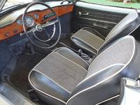 1967 Karmann Ghia Convertible Interior