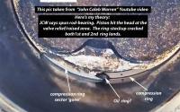 EJ25 death at 81k cast piston ring lands