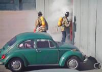"1971 Beetle in ""Emergency!"" TV show 1977"