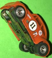 Vintage Aurora Model Motoring HO Scale VW Bug Slot Car