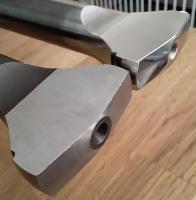 Empi polished Axles, Weddle Fulcrum plates