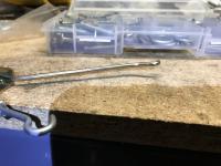 Jerry-rigging a Eurovan door actuator and locking rod