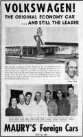 Maury's VW - Klamath Falls