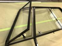 Piano Hinge Window Frames