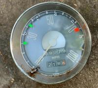 Fastback speedometer