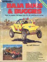 HP Baja Bugs And Buggies Book By Jeff Hibbard