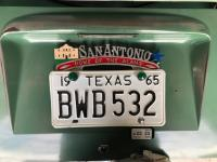 San Antonio License Plate Topper