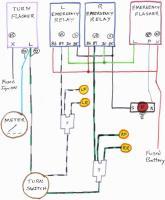 Hazard 4 Way flasher diagram