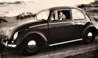 Vintage VW oval window photo