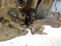Driveshaft disassembly