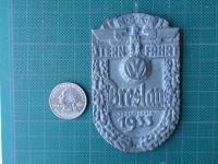 antique VW badge