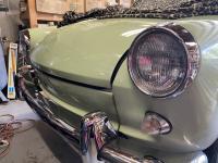 63 Notchback headlight rings