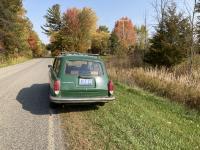 1970 Squareback elm green in fall