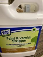 Restoring tools using paint stripper