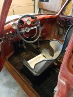 Seat mounted and positioned to reach 3rd gear