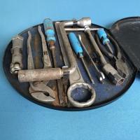 Late '53 Porsche 356 Hazet round toolbox.