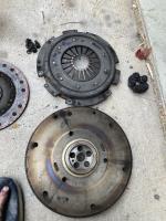 412 clutch flywheel pressure plate