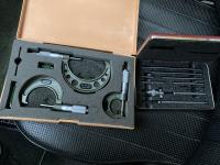 Micrometers and bore gauge