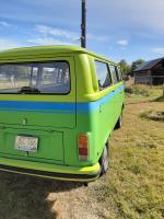 Northeast Oregon bay window bus