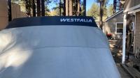 westfalia logo on luggage rack
