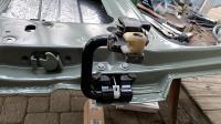 front and slider door hardware powdercoated