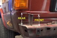 Vanagon Front Bumper Support Bracket