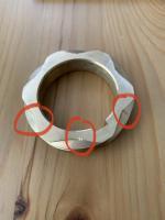 brass distributor gear damage