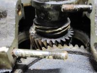 T4 dist. drive gear damage to crank gear