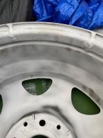 Vanagon CLK wheels sandblasting