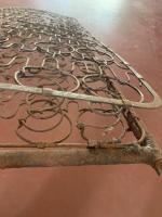 Barndoor seat springs