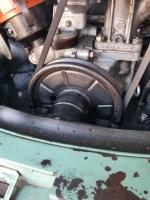 Crank pulley on 1500cc engine in my 1963 15-Window