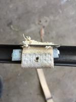 1968 Beetle rear seat attachment strap