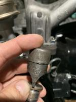 Oil pressure control valve cover