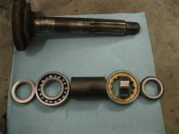 IRS axle bearing spacer lay out