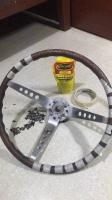 Wood Steering Wheel, Springalex