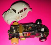 Vintage Lancer VW Bug Ho Scale Slot Car
