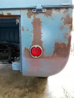 1960 Double Cab Dove Blue Patina Build