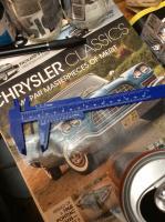 Cheap plastic caliper