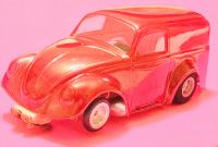 Vintage Riggen VW Funny Panel 1/32 Scale Slot Car
