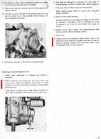 Carb rebuild tips from Service Manuals