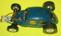 Vintage Dubro 1/32 Scale VW Bug Modified Slot Car