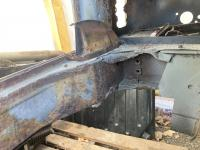 1972 engine compartment with AC cut out and fuel tank