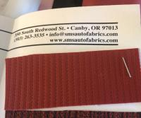 SMS Auto Fabrics 1964 only red cord material