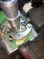 Factory over greasing distributor